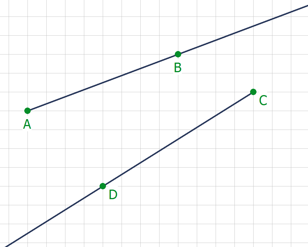 Gerade Linien - Touchdown Mathe